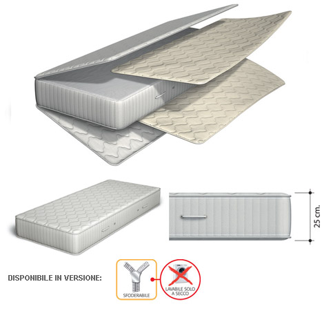 Materasso Body System Portoflex modello superconfort-