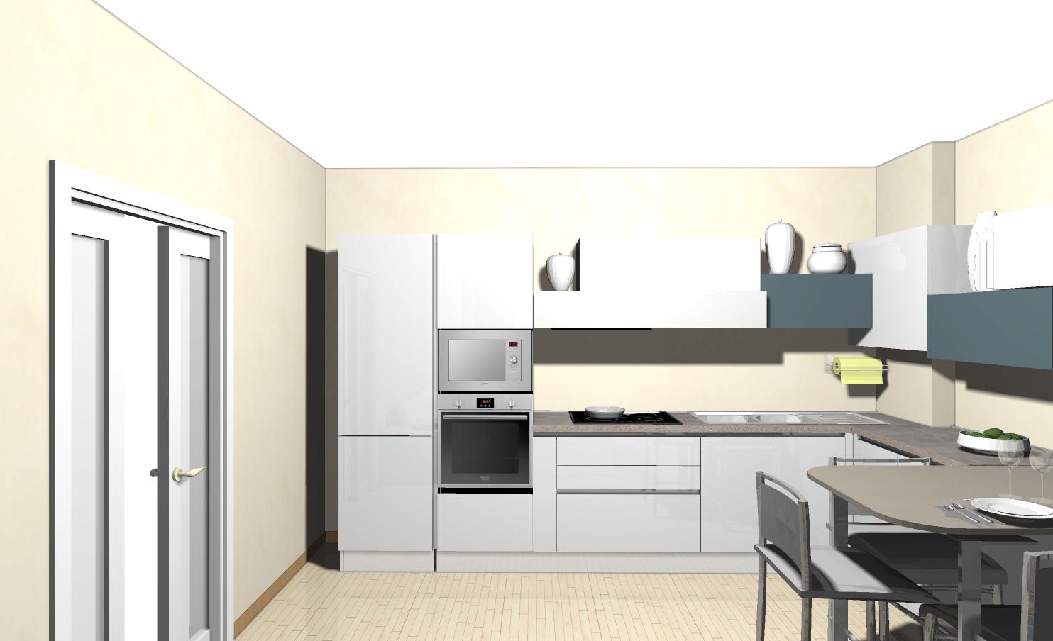progetto ambiente unico archives - non solo mobili: cucina ... - Realizzare Unico Ambiente Cucina Soggiorno 2