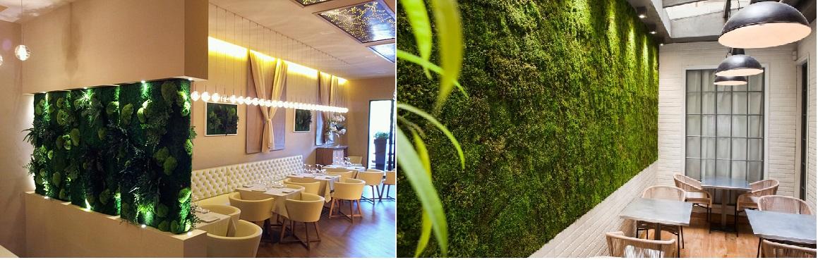 linfadecor allestimenti pareti vegetali