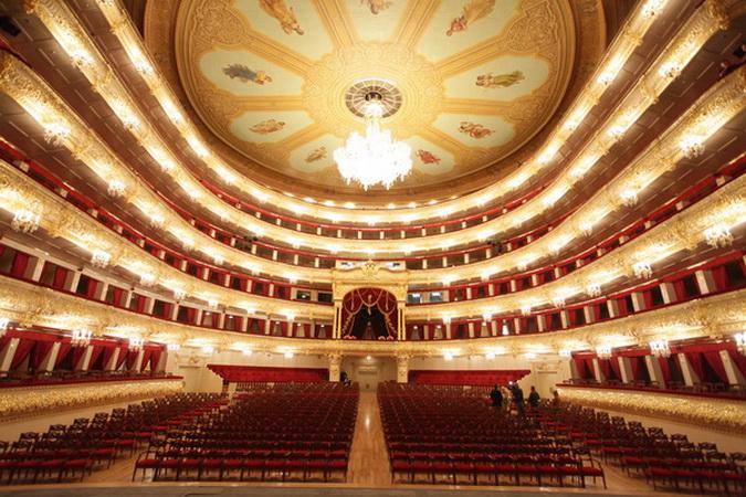 """Rubelli veste il """"grande teatro"""". L'operazione """"Bolshoi"""" è iniziata nel 2007 e si è conclusa nel 2011."""
