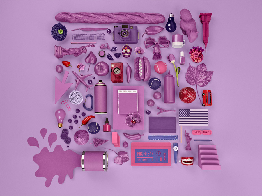 radiant orchid pantone colore institute