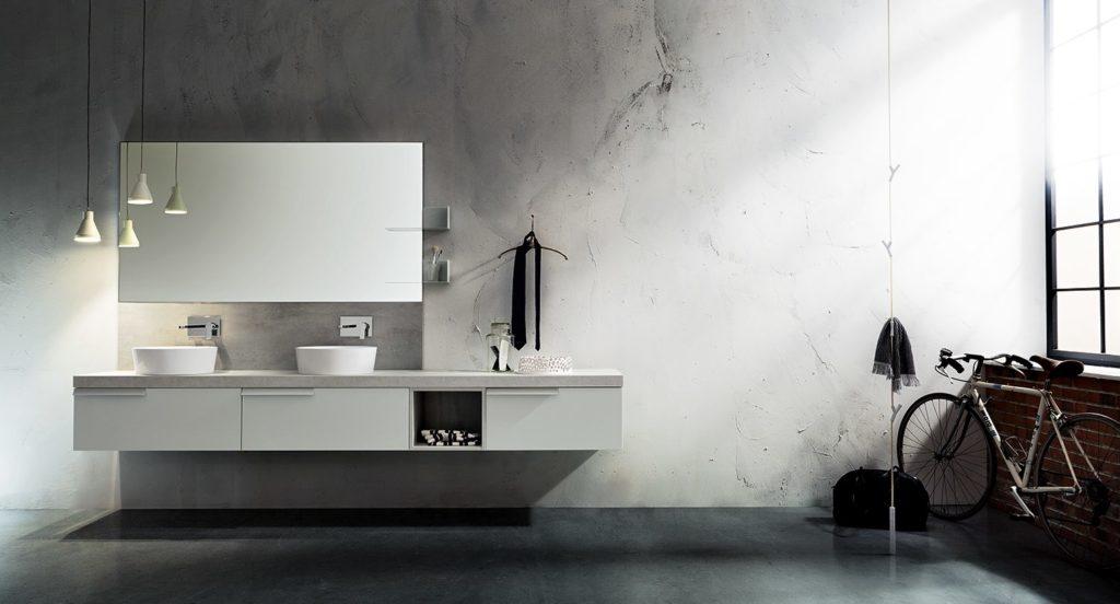 arredo bagno industrial style
