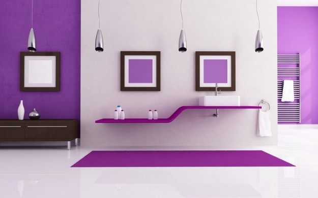 radiant orchid bagno