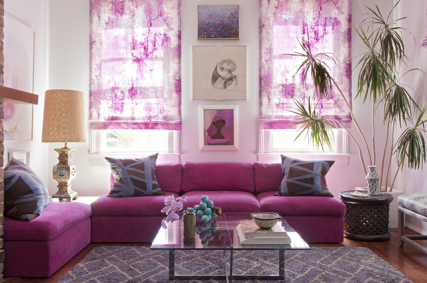 radiant orchid salotto