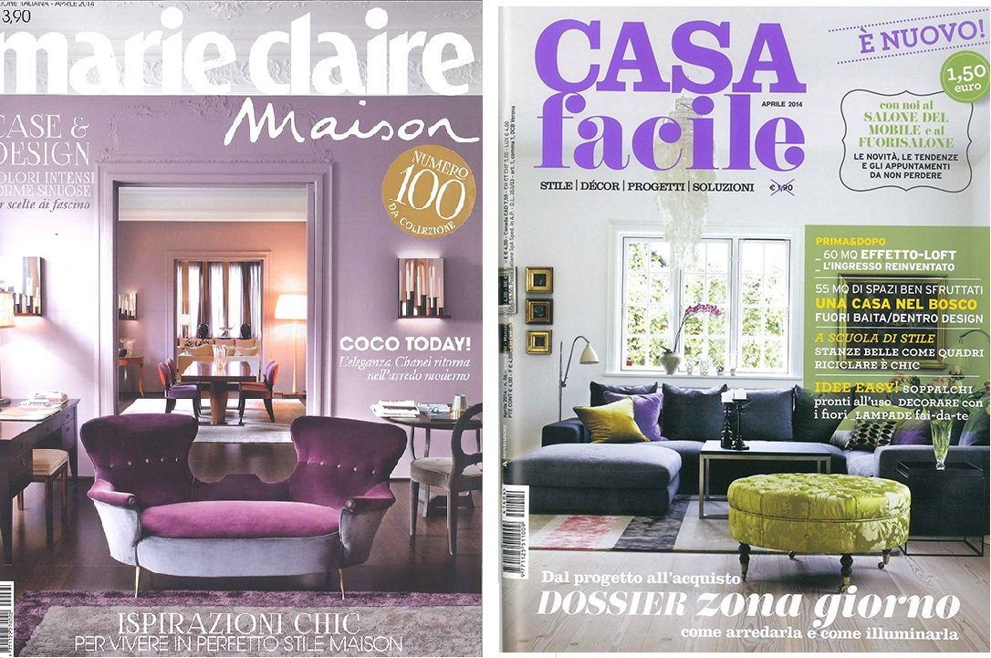 I nuovi letti di bolzan letti fotografati sulle riviste d for Riviste di arredamento casa