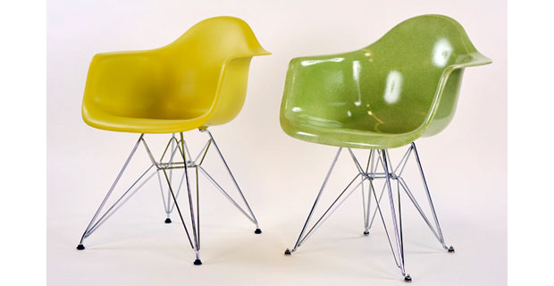 eames shell chair Vitra