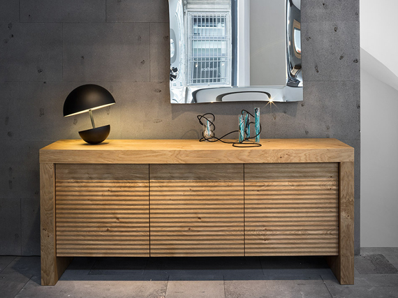 credenza t wood