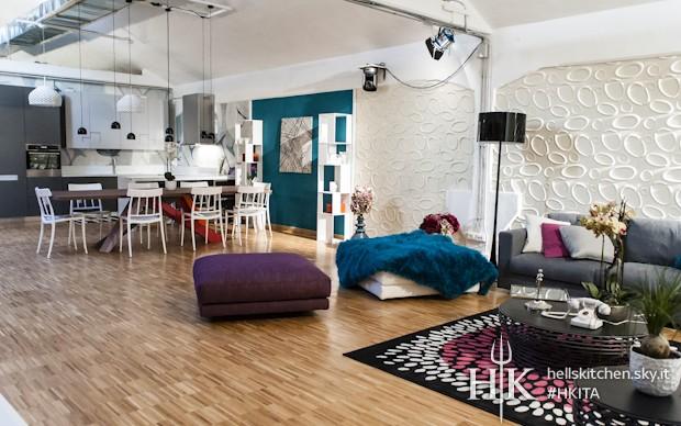 Hell 39 s kitchen italia 2014 curiosita 39 sugli arredi del for Arredamento loft