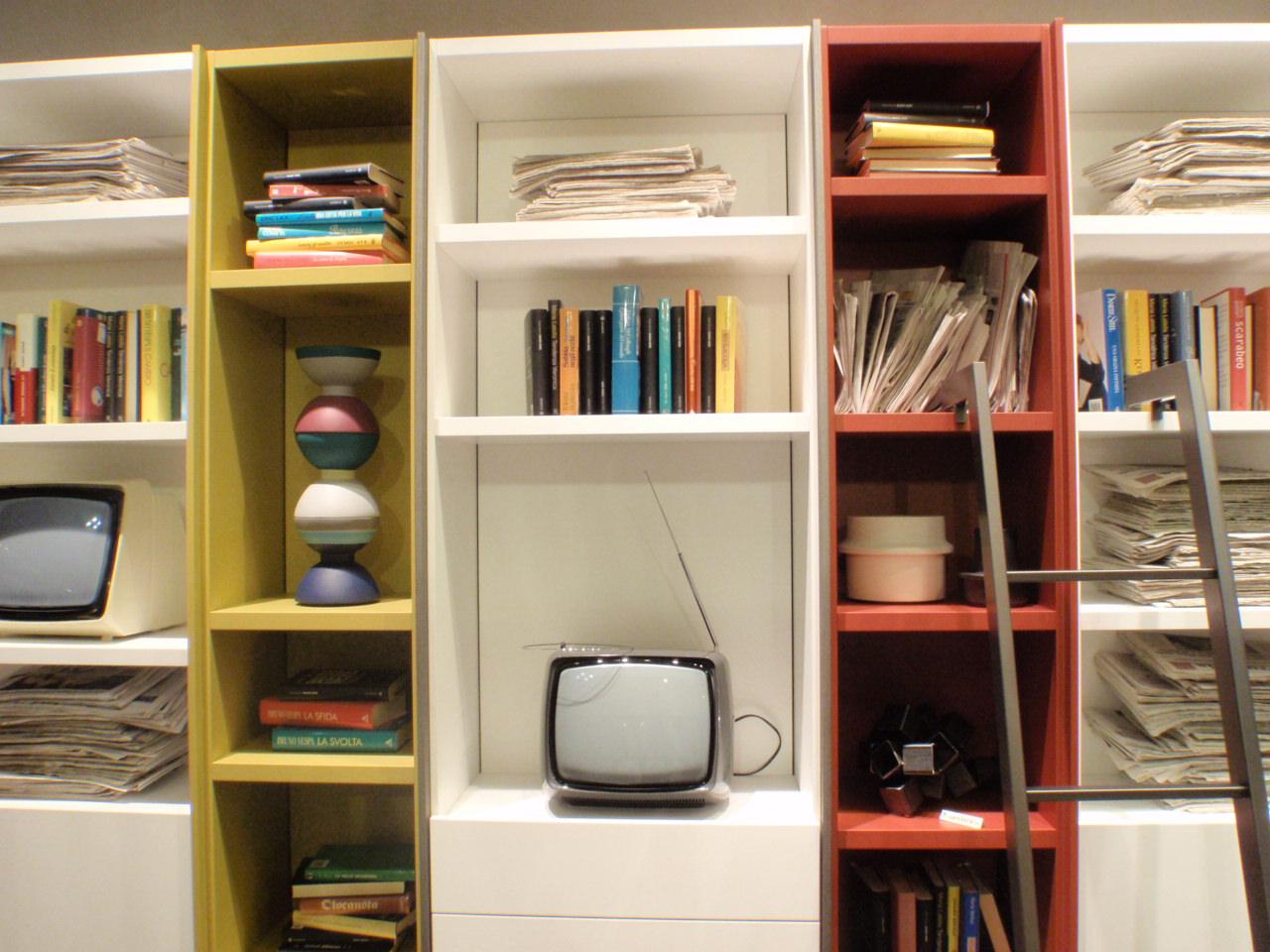 libreria edis fimar mobili salone del mobile 2014