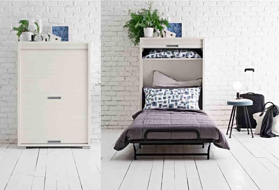 Armadio Letto A Scomparsa Ikea.Mobile Letto Singolo A Scomparsa Idee Di Design Per La Casa