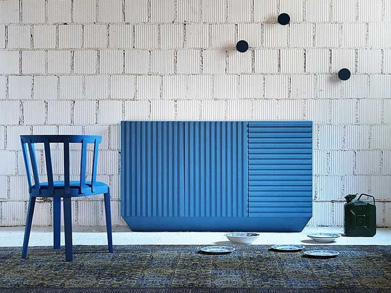 Arredamento blu archives non solo mobili cucina for Tappezzerie moderne