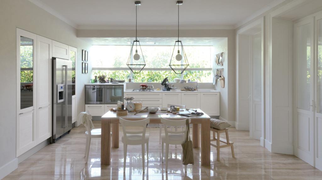 cucina bianca moderna idee tendenza : veneta cucine Archives - Non solo Mobili: cucina, soggiorno e camera