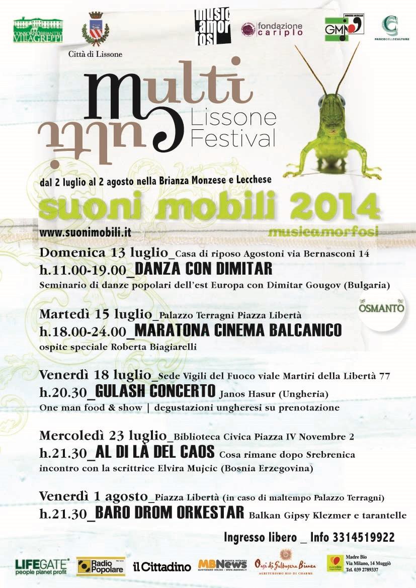 musicamorfosi festival suoni mobili 2014