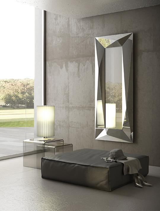 specchio diamond riflessi