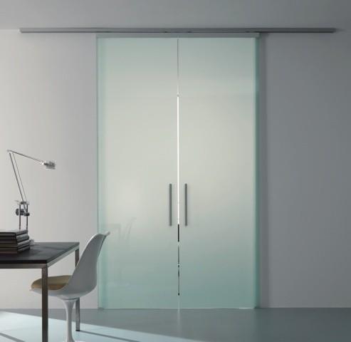 Porte scorrevoli e porte soffietto per armadio cabina - Porta a soffietto in vetro ...