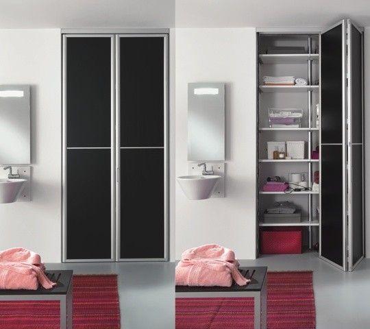 Porte scorrevoli e porte soffietto per armadio cabina - Porte scorrevoli bagno ...
