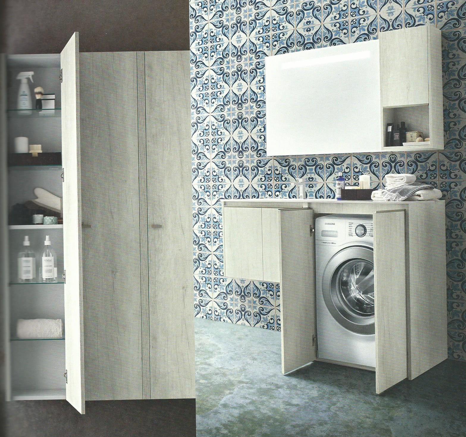 Mobile lavatrice e asciugatrice non solo mobili cucina - Mobile lavatrice asciugatrice ikea ...