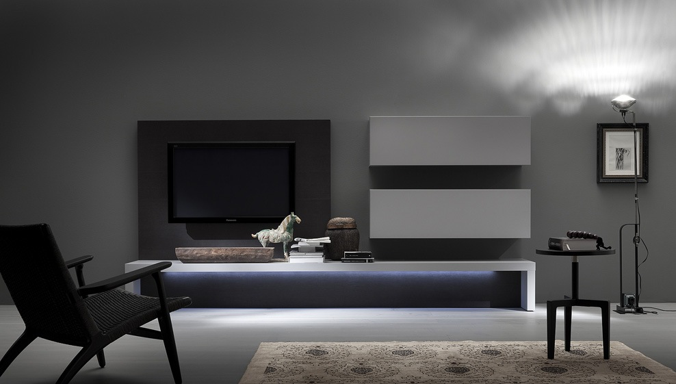 composizione living pensile port tv