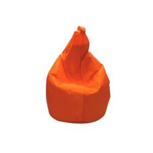 poltrona sacco arancione