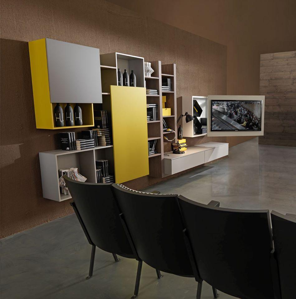 Libreria archives mobili e arredi lissone veneta cucine for Soggiorni moderni lissone