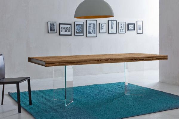 tavolo in legno di recupero briccole Napol
