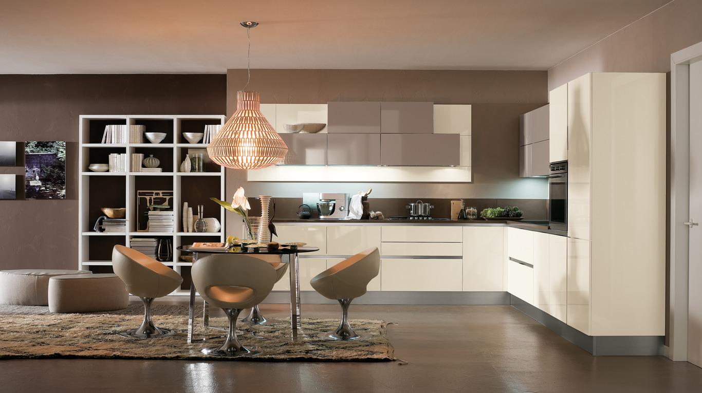 cucina moderna senbza maniglia