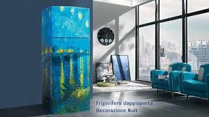 frigorifero colorato quadro van gogh