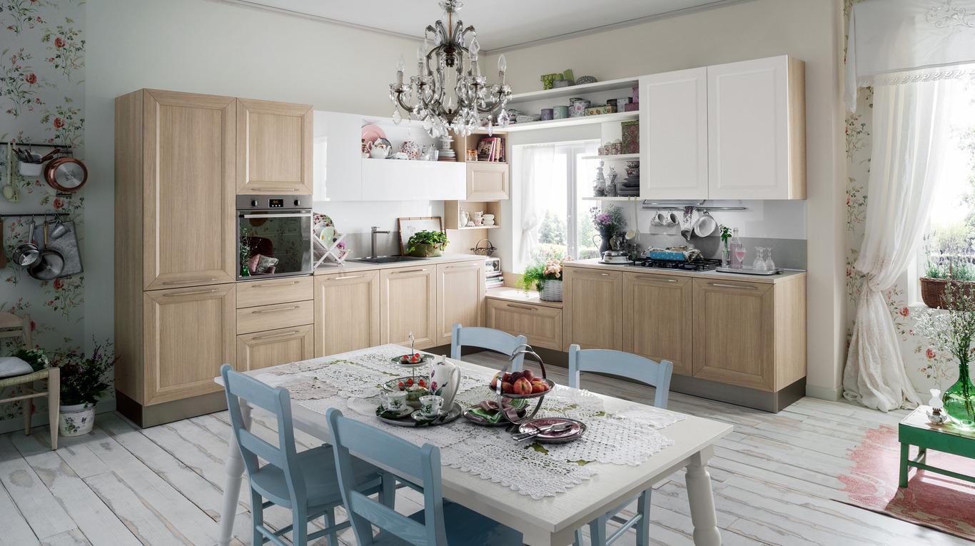 Idee per una cucina moderna con veneta cucine non solo - Pittura per cucina classica ...
