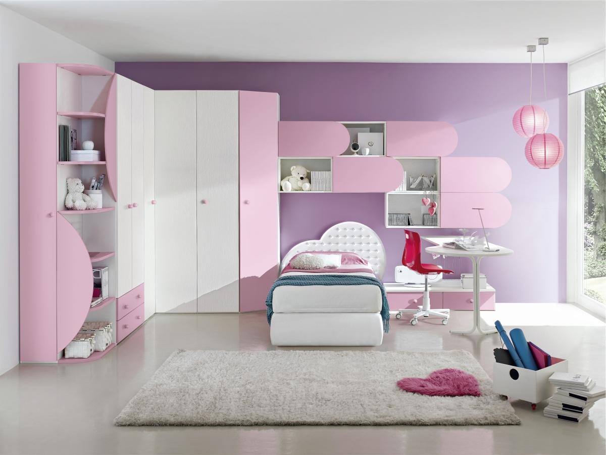 La cameretta del cuore letto comodino armadio per una - Centro veneto mobili ...