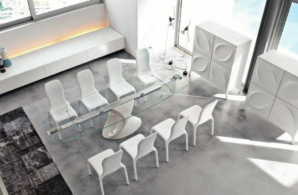 tavolo tonin casa shangai prezzo out let