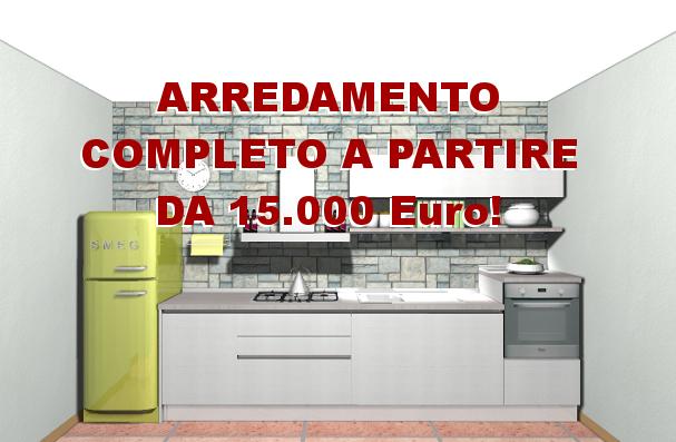 arredamento completo 15 mila euro