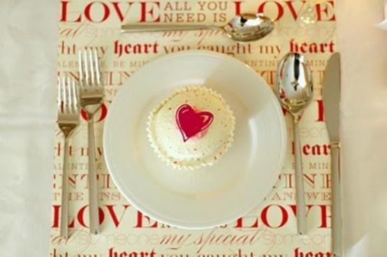 tavola san valentino idee