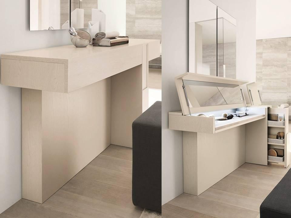 Toeletta classica toeletta moderna da inserire in camera for Consolle scrivania moderna
