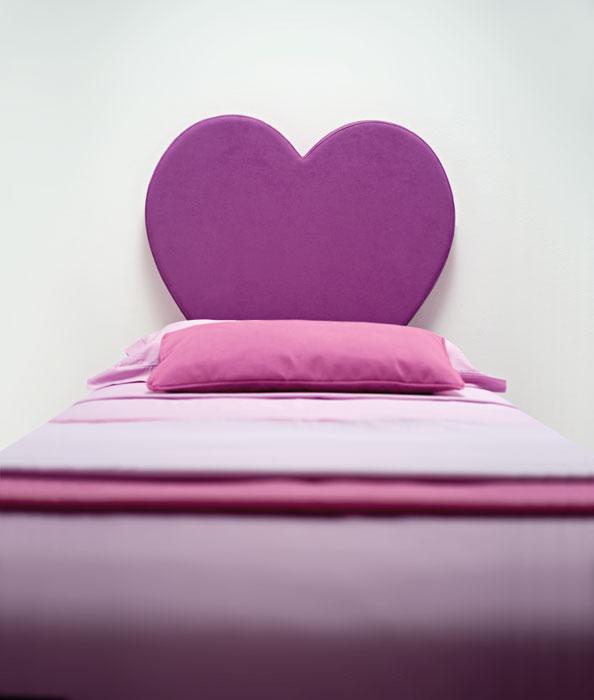 Progettiamo la tua cameretta con letto a cuore colori personalizzati - Letto matrimoniale a forma di cuore ...