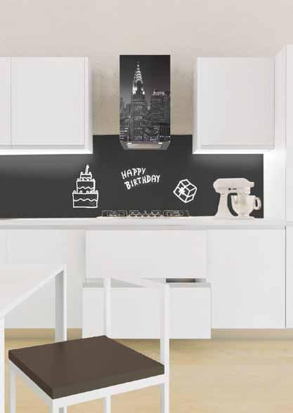 Elettrodomestici e pannelli da cucina colorati - Pannelli retro cucina ...
