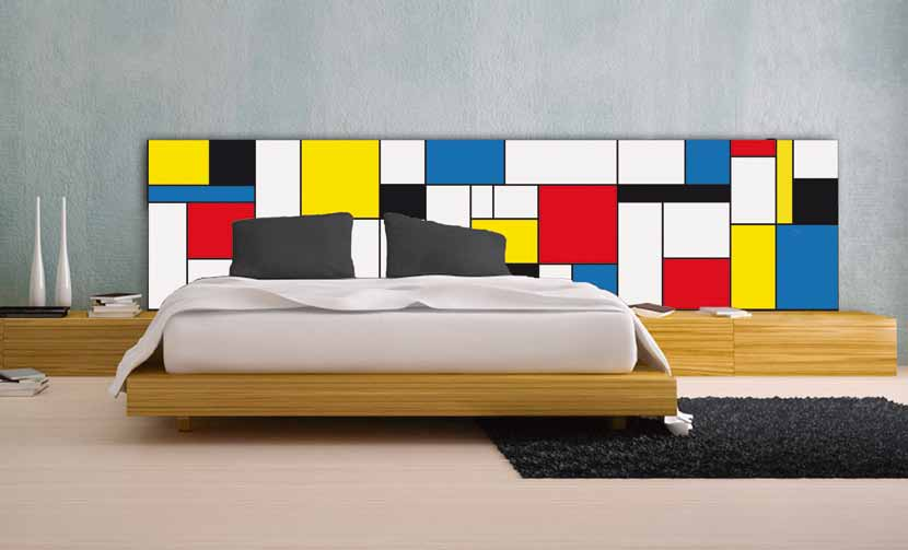 pannello retroletto Mondrian