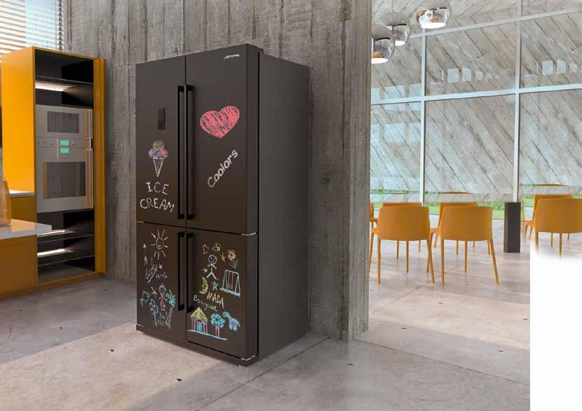frigorifero doppia porta lavagna