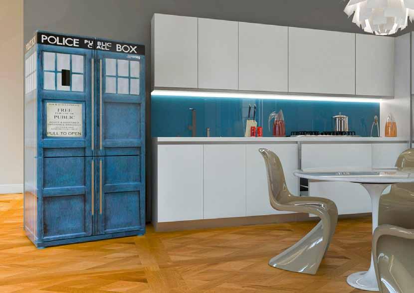 frigorifero stampa colorata