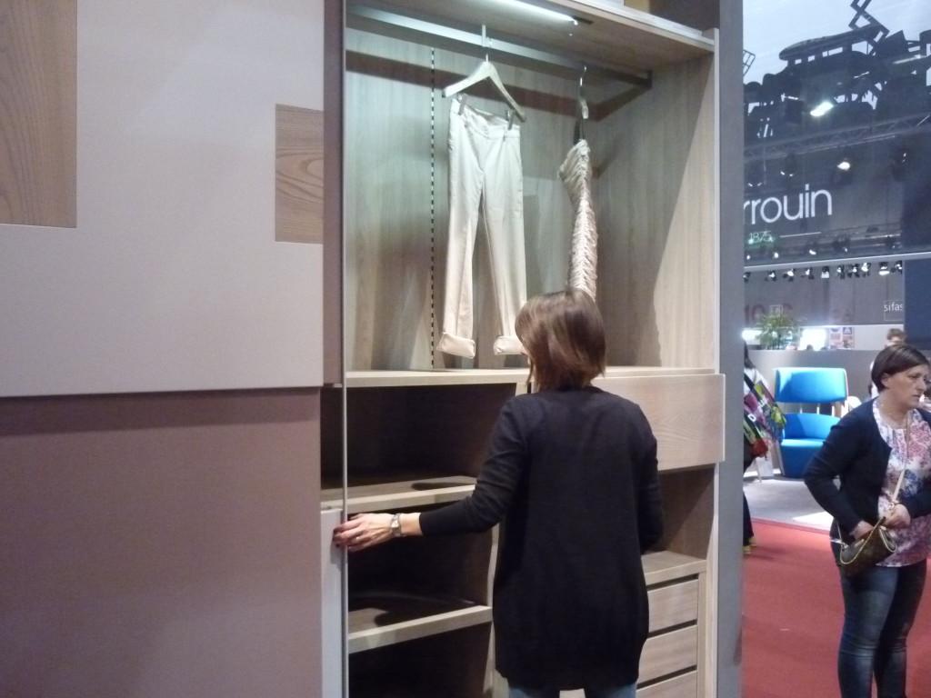 attrezzatura armadio scorrevole legno fimar