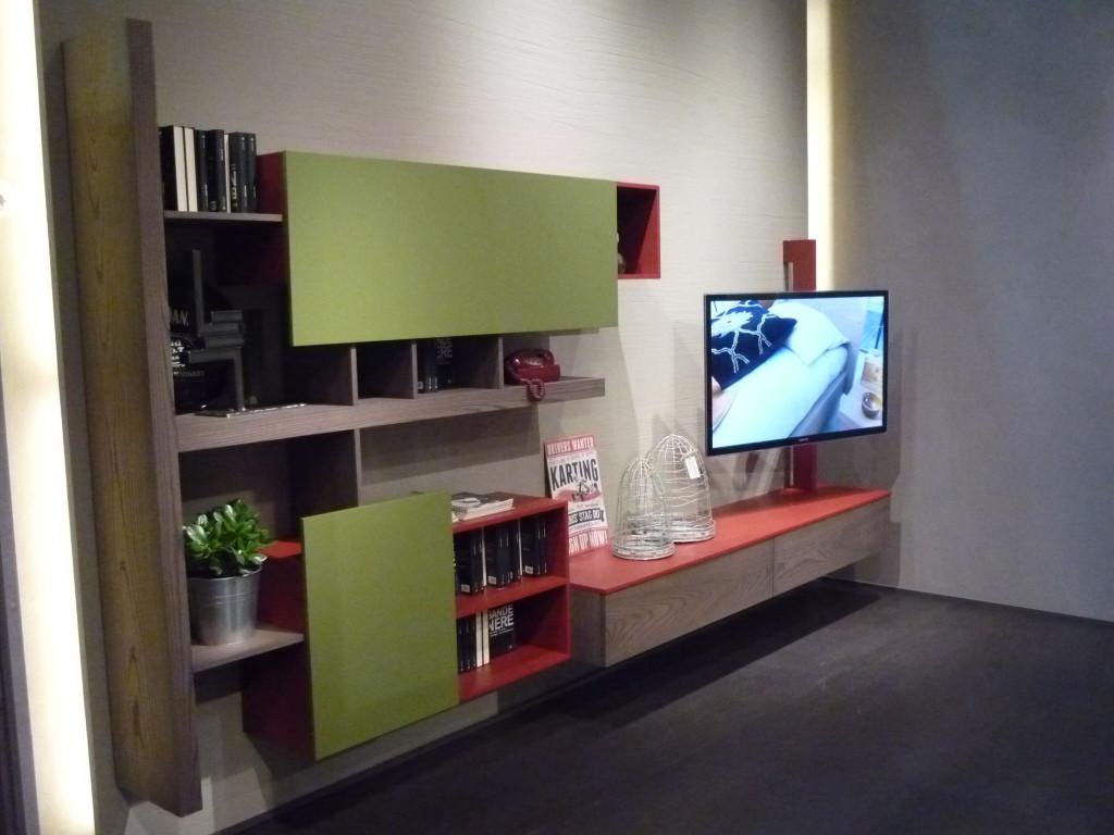 Soggiorno moderno con porta tv Fimar