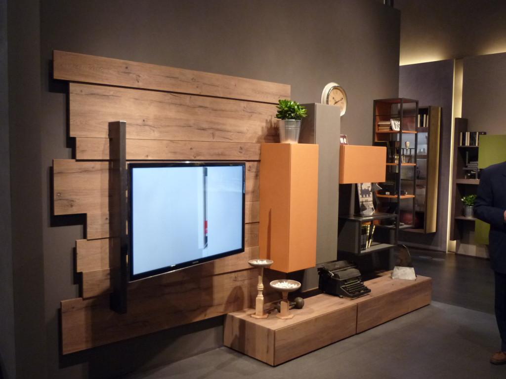 soggiorno moderno stile industriale Fimar
