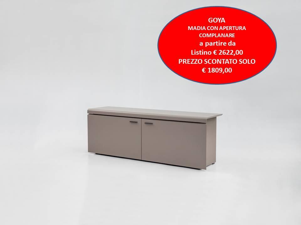 madia moderna Goya tonin casa prezzo scontato