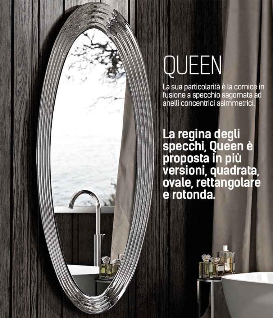 Specchio Queen Riflessi diverse misure