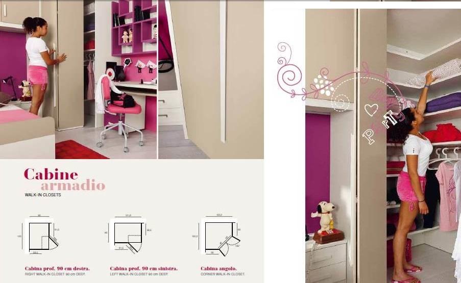 Idee arredamento archives pagina 6 di 31 non solo mobili cucina soggiorno e camera - Cabina armadio per cameretta ...