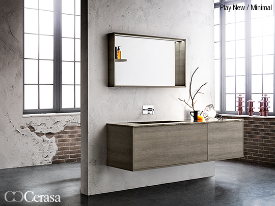 bagno moderno e minimal cerasa