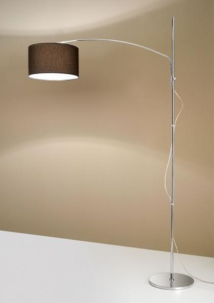 lampada ad arco in tessuto