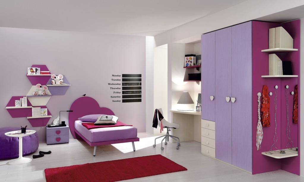 Cameretta romantica per bambina non solo mobili cucina soggiorno e camera - Camera per bambina ...