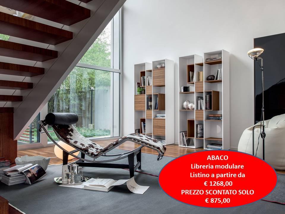 libreria modulare Abaco tonin casa