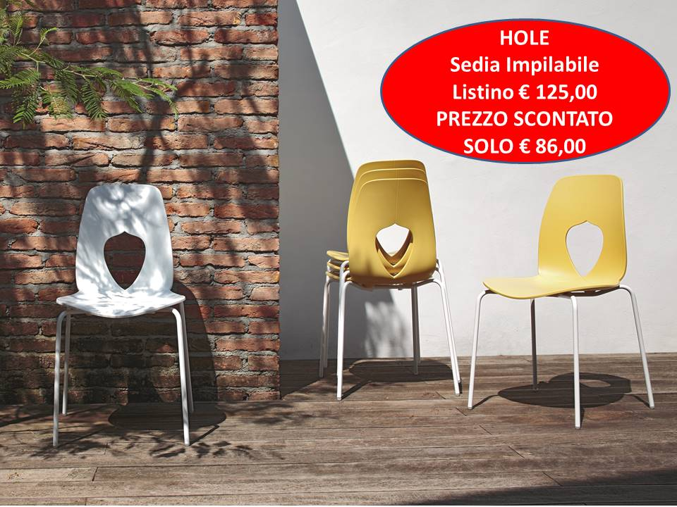 Hole sedia Tonin Casa cucina o soggiorno prezzo scontato