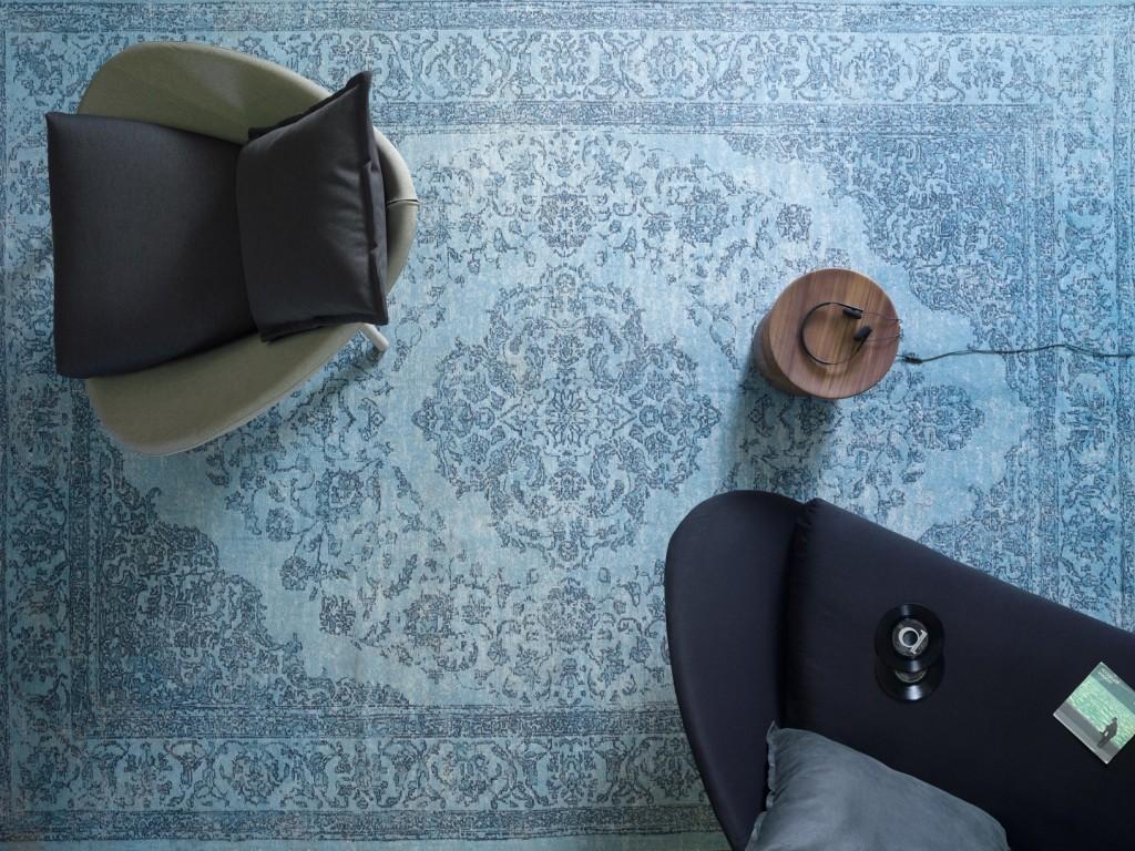 tappeto aladino miniforms orientale blu